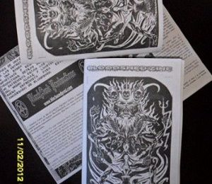 Noticias Bloodshed 'zine y StrangeRecords‏