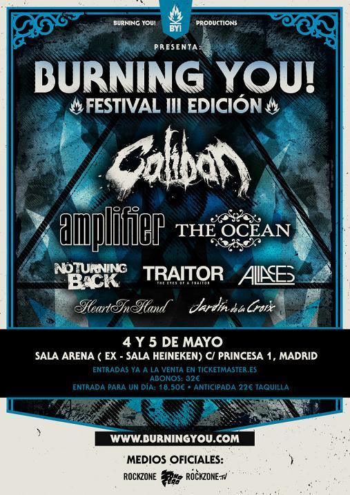Burning You! confirman AS THEY BURN(Fr) y Burning You! Festival III