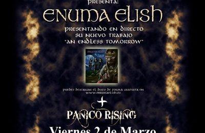 ENUMA ELISH presentando su nuevo álbum en directo.
