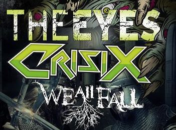 THE EYES + CRISIX + WE ALL FALL… en Madrid en el Kaiowas Tour 2012