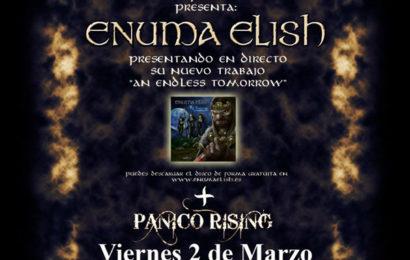 ENUMA ELISH, en concierto.