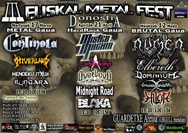 EUSKAL METAL FEST III-Noticia