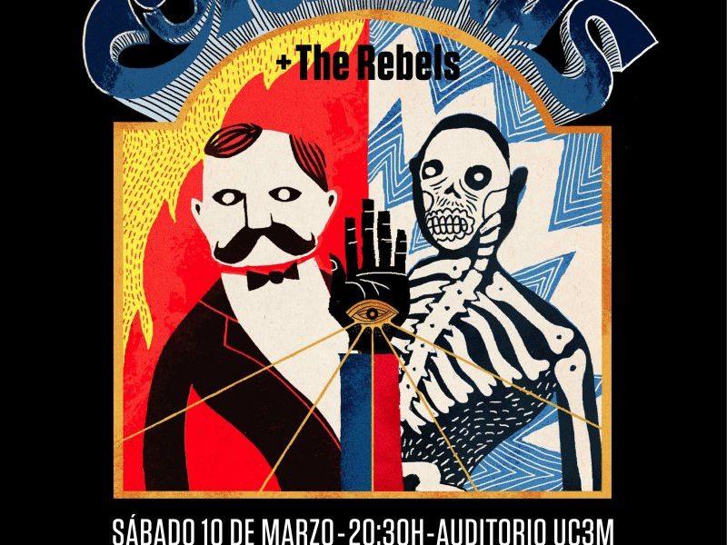 CORIZONAS Y THE REBELS en concierto