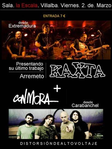KAXTA presenta «Arremeto» en Villalba