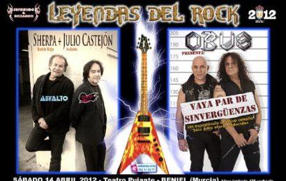 LEYENDAS DEL ROCK 2012- Fiesta presentación