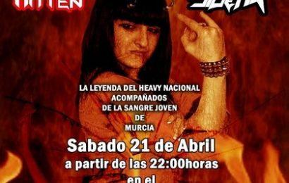 ZARPA en el II FORBIDEN FESTIVAL, 21 de abril, Cartagena.