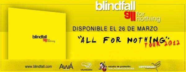 BLINDFALL – Entrevista – 06/03/12