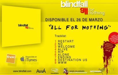 BLINDFALL – Comienza el All For Nothing Tour