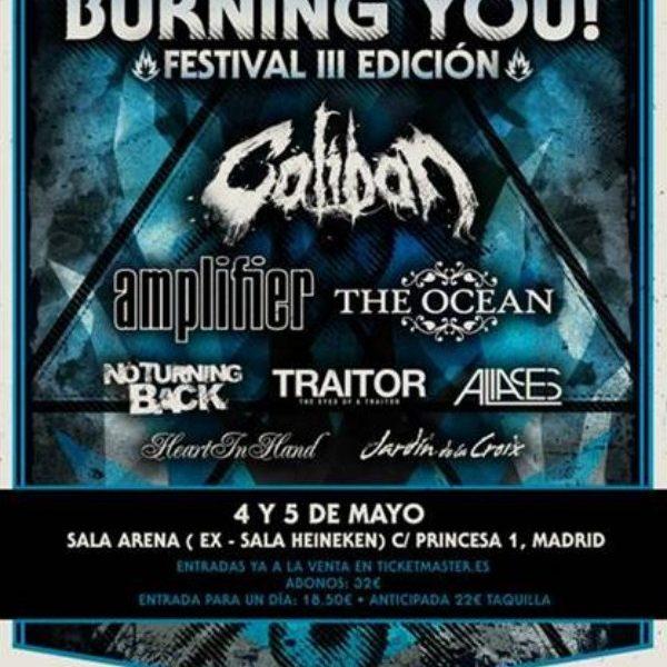 Teaser promocional del BURNING YOU! FESTIVAL III