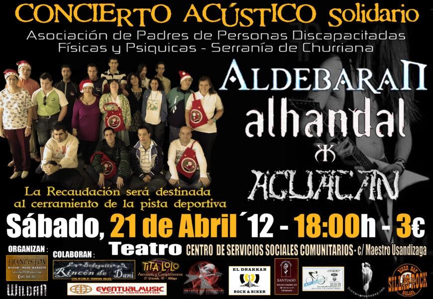 Concierto Solidario Acústico de Churriana