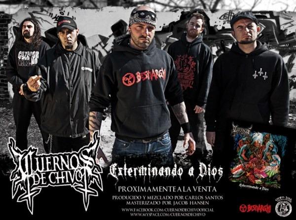 «Exterminando a Dios»: nuevo disco de CUERNOS DE CHIVO