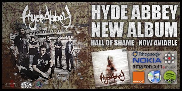 HYDE ABBEY: Lanzamiento digital de Hall Of Shame.