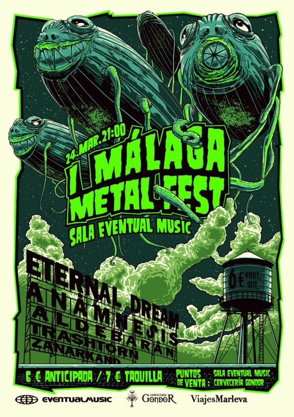 Se acerca el MALAGA METALFEST I… será el 24 de marzo
