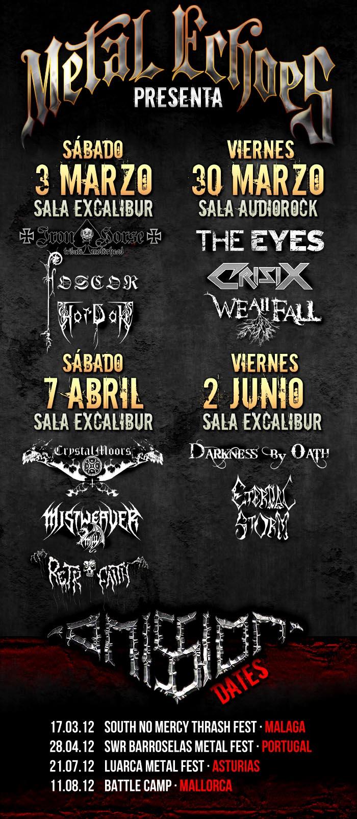 Nuevas fechas Metal Echoes