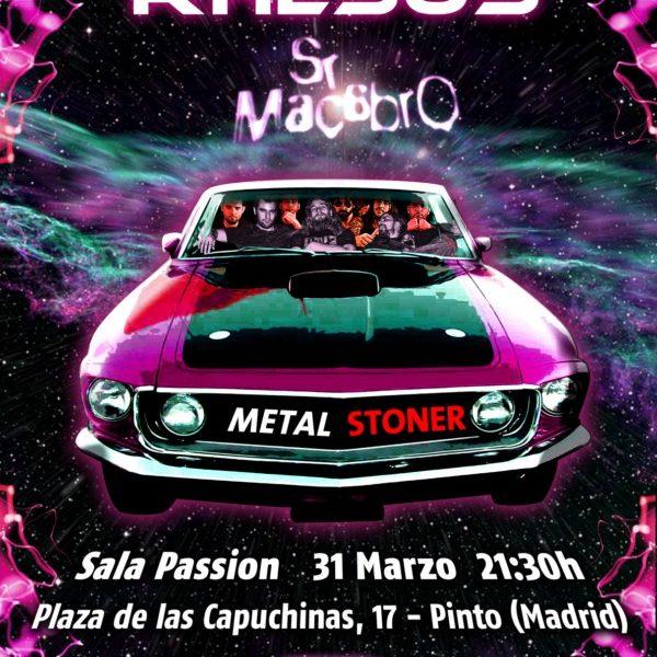 RHESUS en Pinto (Madrid) el 31 de marzo