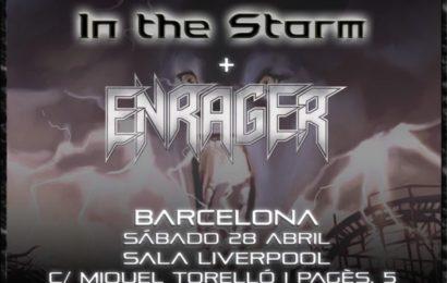 La gira de STEEL HORSE llega a Barcelona… con ENRAGER