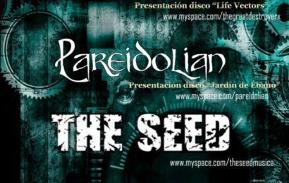 TGDX + PAREIDOLIAN + THE SEED – Madrid – 31/03/12