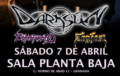 DARKSUN el próximo sábado en Granada