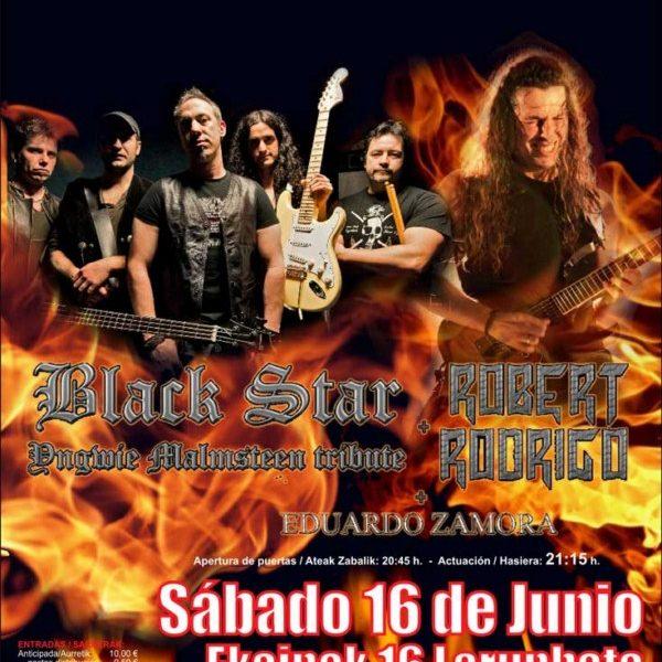 Concierto Guitars From Hell: guitar heroes en Navarra.