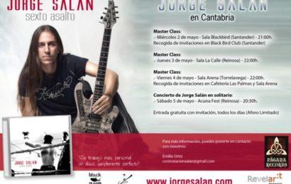 JORGE SALAN en Cantabria: tres Master Class y concierto