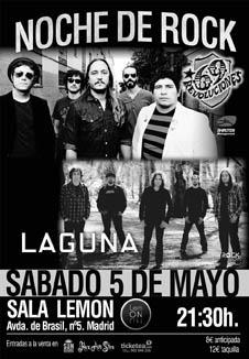 LAGUNA + 69 REVOLUCIONES 5 de mayo en Madrid