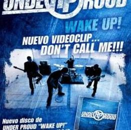 UNDER PROUD Publica su primer álbum «Wake Up!»