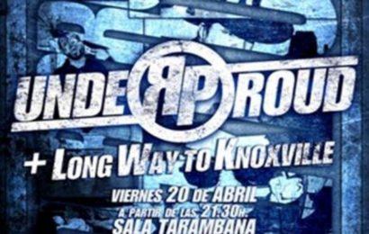 UNDER PROUD: firma de disco y concierto presentación en Madrid