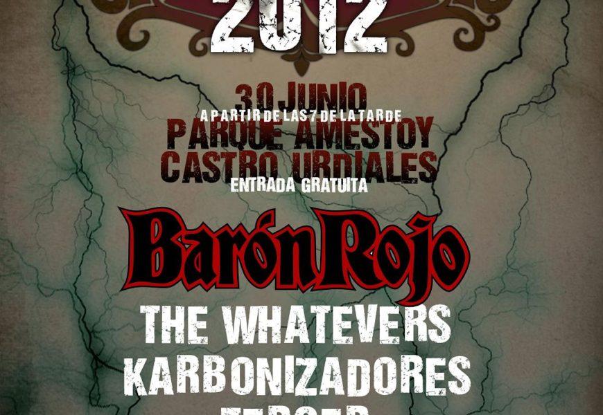 CASTRO ROCK 2012 el 30 de Junio