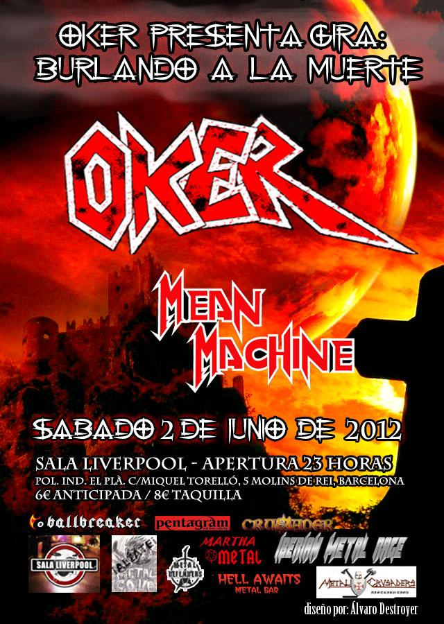 OKER – 2 de junio en Barcelona