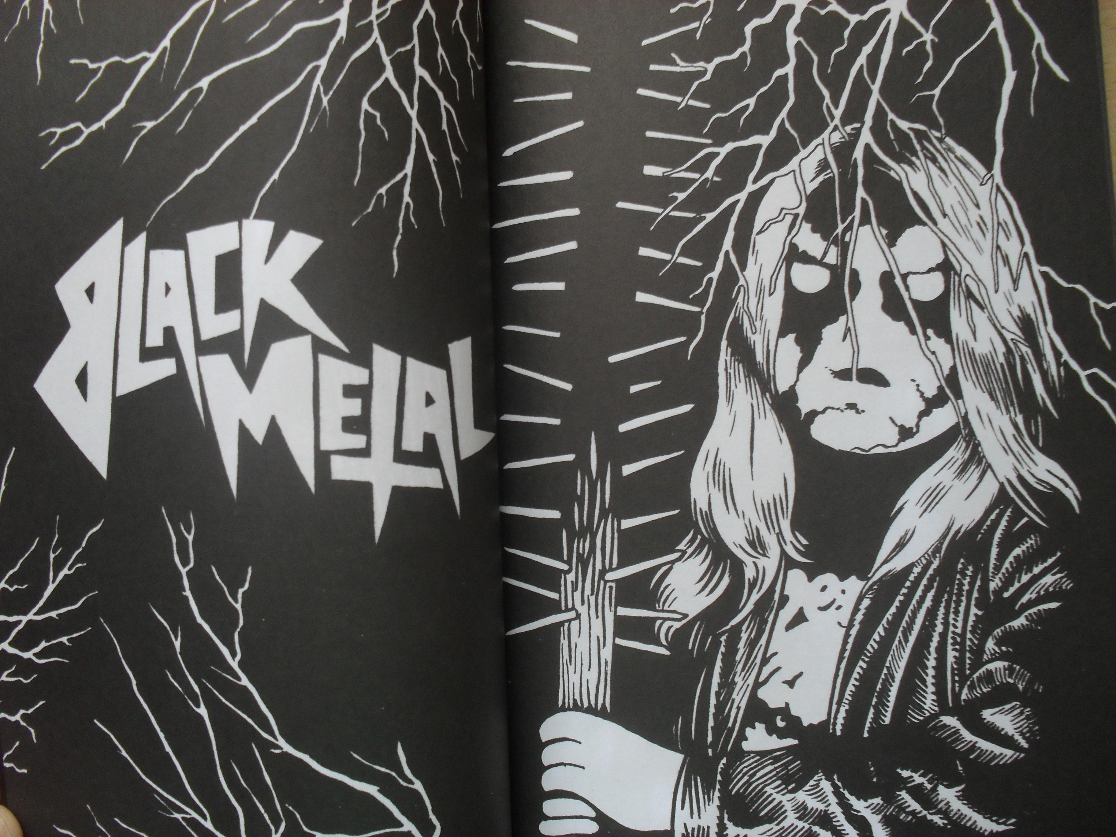 BLACK METAL CÓMIX, Reportaje