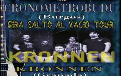 CRONOMETROBUDU y KRONNEN el 26 de mayo en Granada