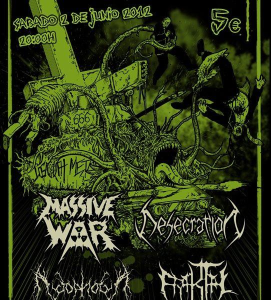 Fear and Death el sábado 2 de junio