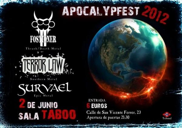 APOCALYPFEST 2012 en Madrid…