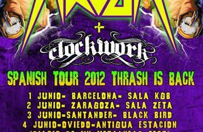 HAVOK (USA) + CLOCKWORK + XXX – Valladolid – 12/06/12