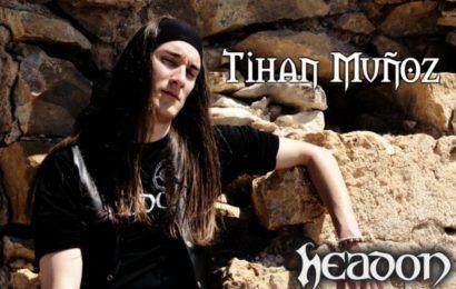 Anunciamos el nuevo cantante de HEADON tras la marcha de Andy a 037