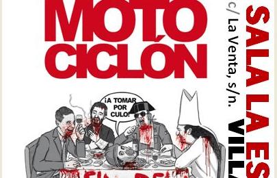 MOTOCICLÓN + SPEKTRA en Sala La Escala (Villalba)