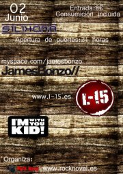 JAMES BONZO, L-15 y I'M WITH YOU KID en Madrid