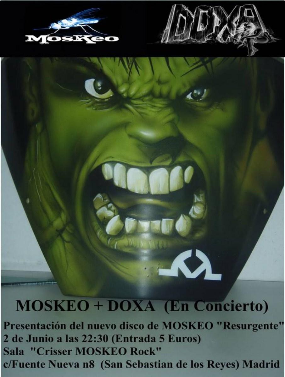 MOSKEO termina de grabar disco y lo presenta en S.S. de los Reyes