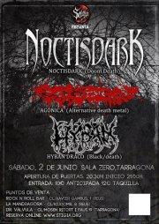 Concierto NOCTISDARK + HYBAN DRACO + AGONICA