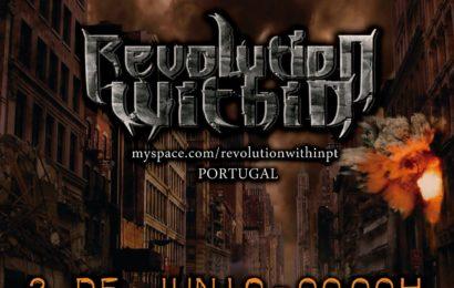 REVOLUTION WITHIN En concierto en España