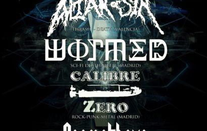 Valencia N' Metal este sábado 2 de Junio