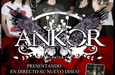 ANKOR tiene tres fechas para presentar su último álbum en el sur español.