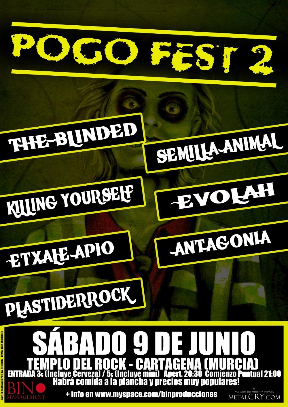II Pogo Fest el 9 de junio