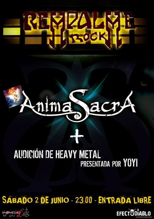 ANIMA SACRA – Murcia, 02/06/12