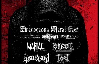 ZINEROCEUS METAL FEST, hoy 15 de junio.