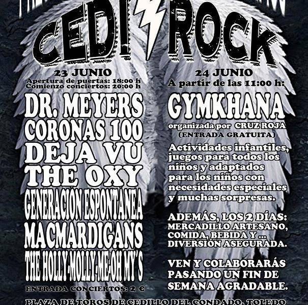 Festival Cedi Rock – 23 y 24 de junio