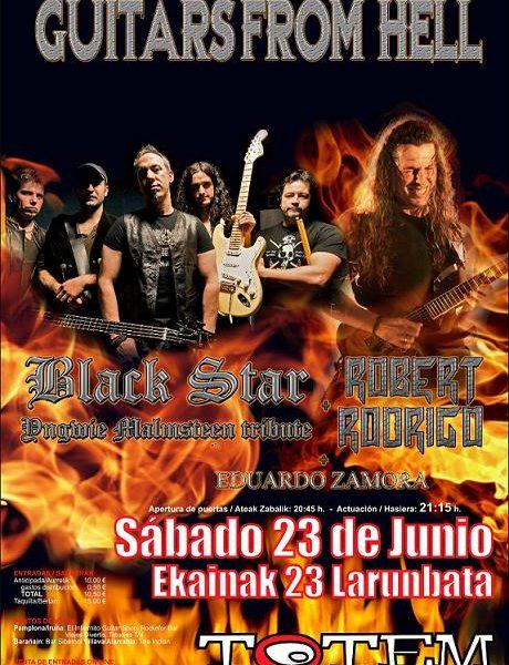 Guitars from Hell – 23 de junio en Pamplona