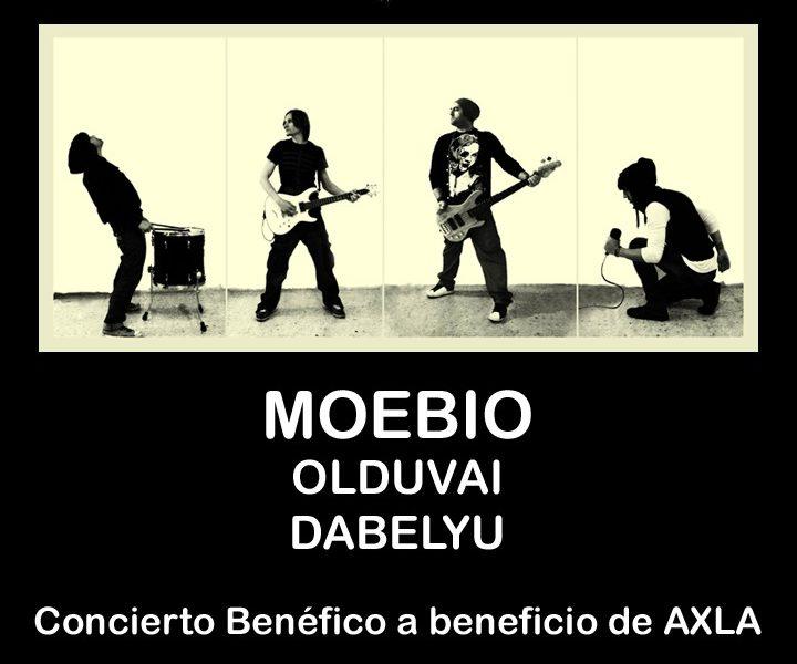 MOEBIO, nueva web y concierto benéfico