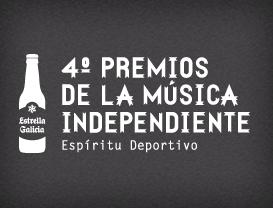 Finalistas de la 4ª edición de los Premios de la Música Independiente