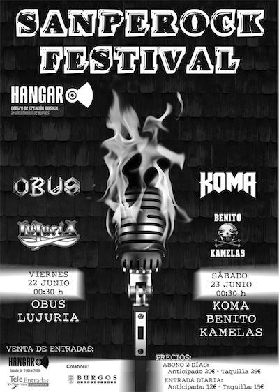 SANPEROCK FESTIVAL – 22 y 23 de junio en Burgos